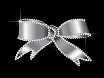 Diamond ribbon Royalty Free Stock Image