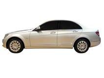 Luxury silver car Royalty Free Stock Photos