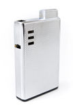 Luxury silver lighter Royalty Free Stock Photos