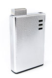 Luxury silver lighter Stock Images