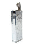 Luxury silver lighter Royalty Free Stock Images