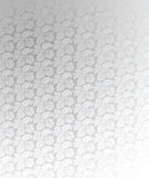 Luxury Silver Ornate Background Illustration Stock Photography
