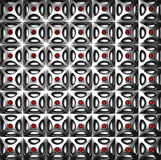 Luxury silver pattern background. 3d illustration Stock Photo