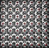 Luxury silver pattern background Stock Photo
