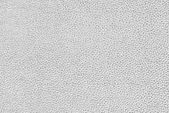 Luxury silver white leather texture background Royalty Free Stock Photos