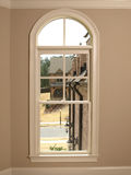 Luxury Single Arch Window 2 Royalty Free Stock Photos