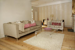 A Luxury sitting room Royalty Free Stock Photo