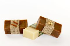 Luxury soap Royalty Free Stock Photography