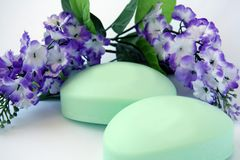 Luxury soap. Royalty Free Stock Photography