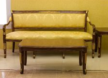 Luxury sofa royalty free stock photo