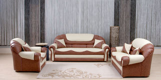Luxury sofa Stock Images