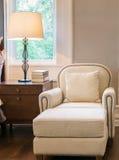 Luxury sofa in classic style bedroom Stock Photography
