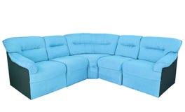 Luxury sofa isolated on the white background Stock Photography