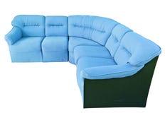 Luxury sofa isolated on the white background Stock Image