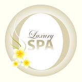 Luxury Spa Design Royalty Free Stock Photo