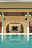 Luxury spa pool Stock Photography