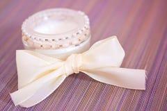 Luxury spa product: moisturising cream. Luxury spa beauty product, pot of moisturising cream Stock Photos