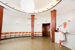 Luxury Spa Reception Stock Photo