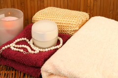 Luxury spa and relax Royalty Free Stock Photos