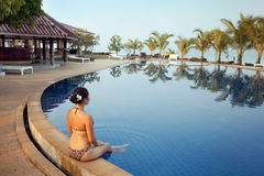 Luxury spa resort Royalty Free Stock Image