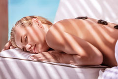 Luxury spa resort Stock Photos