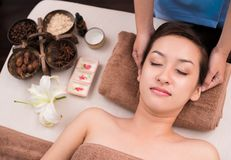 Luxury spa treatment Stock Photography