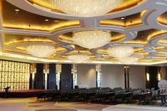 The luxury spacious meeting hall Stock Photos
