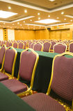 Luxury spacious meeting room Royalty Free Stock Photography