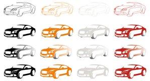 Luxury sport car Stock Photo