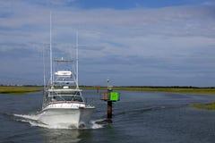 Luxury Sport Fishing Boat Royalty Free Stock Photo