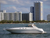Luxury Sport Fishing Boat Royalty Free Stock Images