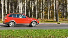 Luxury sport utility vehicle. Of my non-editorial generic cars series stock image