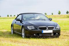Luxury sports car, cabriolet royalty free stock photography