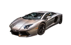 Lamborghini Aventador sports car Stock Image