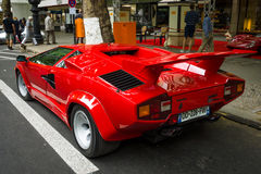 Luxury sports car Lamborghini Countach 5000 Quattrovalvole Royalty Free Stock Photo