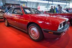 Luxury sports car Maserati 2.24v Biturbo, 1990 Stock Image
