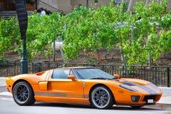 Luxury sports car in Monte Carlo. Stock Photo