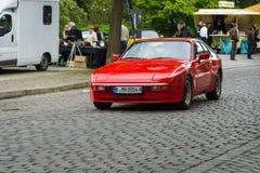 Luxury sports car Porsche 924 Stock Images