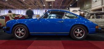 A luxury sports car Porsche 911 Coupe, 1974. Royalty Free Stock Photos