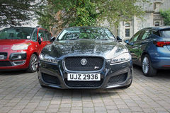 Luxury sports jaguar Royalty Free Stock Images