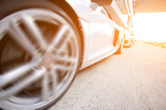 Luxury sporty car Royalty Free Stock Photography