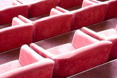 Luxury stadium seats  Stock Photos