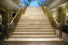 Luxury staircase Stock Photo