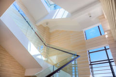 Luxury staircase of hall Stock Images
