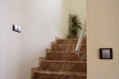Luxury stairs Stock Image