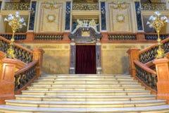 Luxury stairway stock image