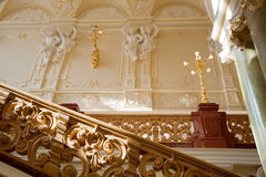Luxury stairway stock photos