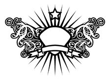 Luxury Star. ( Coat Of Arms vector illustration