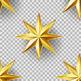 Luxury Stars seamless pattern Royalty Free Stock Photos