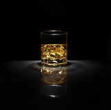 Luxury still life of whisky glass Royalty Free Stock Photography